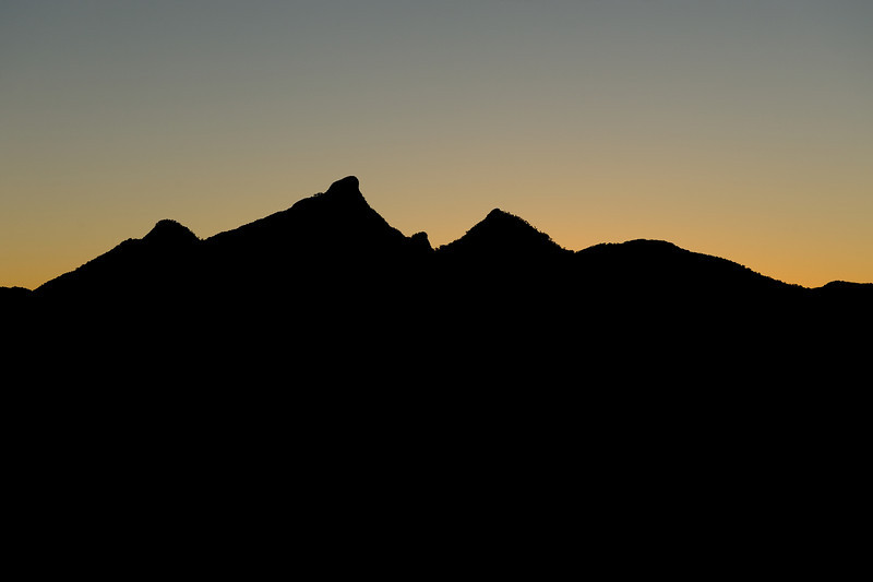 Mt Warning, New South Wales.<br /> Cloudy White Balance.<br /> Photographed from near Uki.