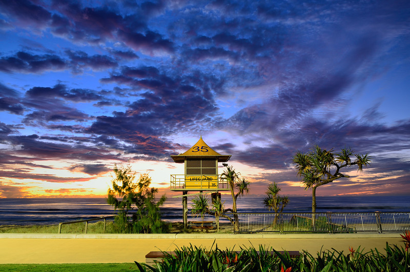 Surfers Paradise sunrise
