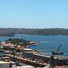 Sydney Harbour panorama 2003.