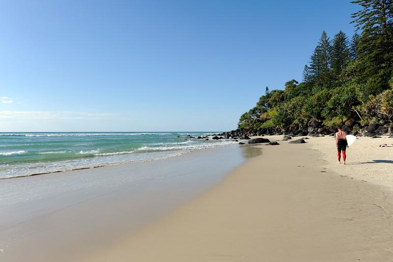 Greenmount Beach, Gold Coast, Australia.