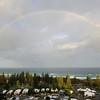 Main Beach rainbow, Gold Coast, Queensland.