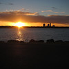 Sunset The Spit., Gold Coast, Queensland.