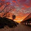 Gold Coast Seaway Sand Pumping Jetty, Queensland.