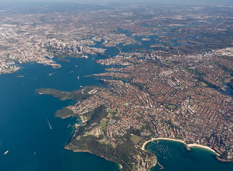 Sydney from Jetstar flight