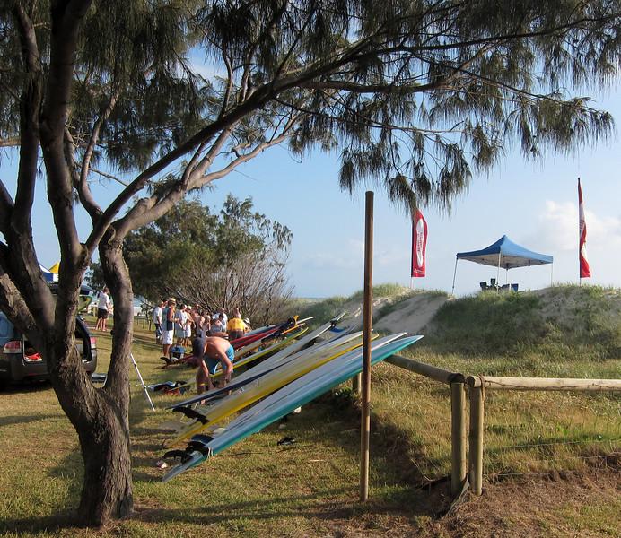 Narrowneck Longboards, Gold Coast, Queensland.