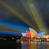 Sydney Opera House, Vivid Sydney festival. 27th May 2010.