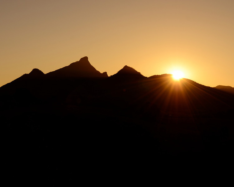 Sunset Mt Warning, New South Wales.