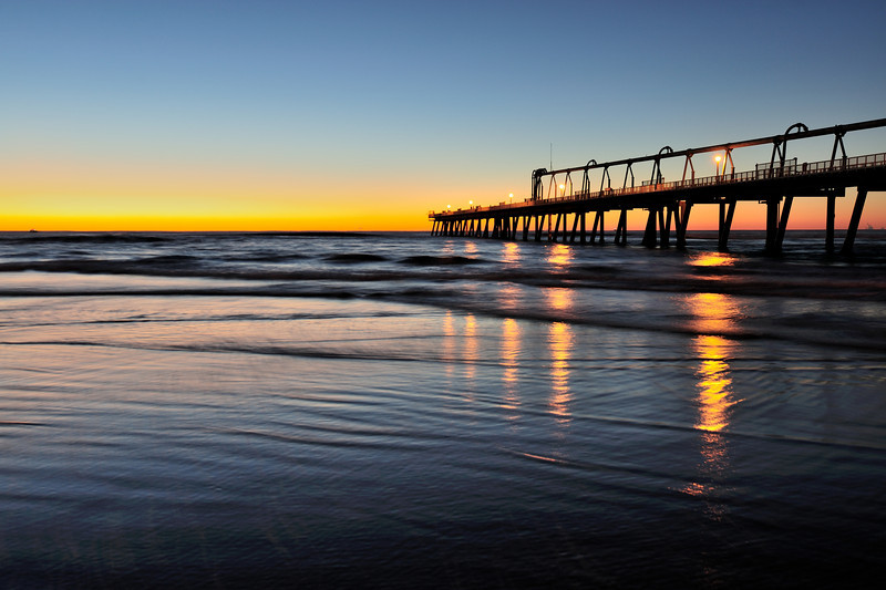 The Spit Jetty, Gold Coast, Queensland.