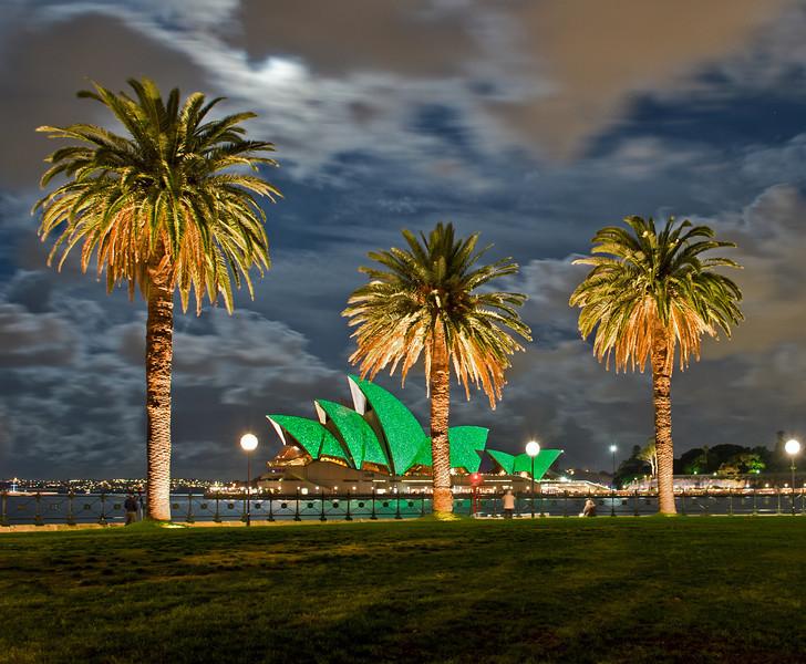 Sydney Opera House. Vivid Festival. 28th May 2010.