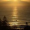 Main Beach sunrise, Gold Coast, Queensland. Jetski.