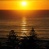 Sunrise at Main Beach, Gold Coast, Queensland.