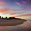 Main Beach sunset, Queensland.