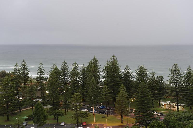 Main Beach, Queensland. 6:10pm daylight savings time.