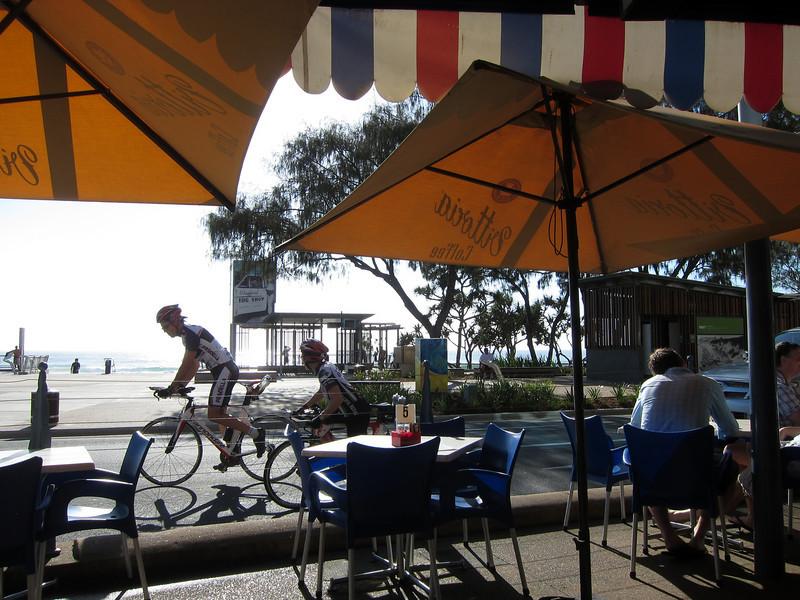 Montmartre Cafe, Surfers Paradise, Queensland.