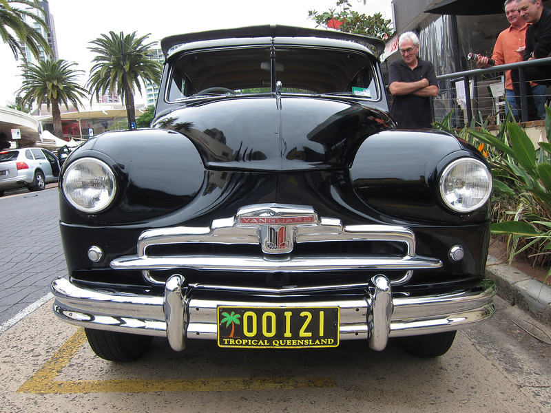 Vanguard car, Main Beach