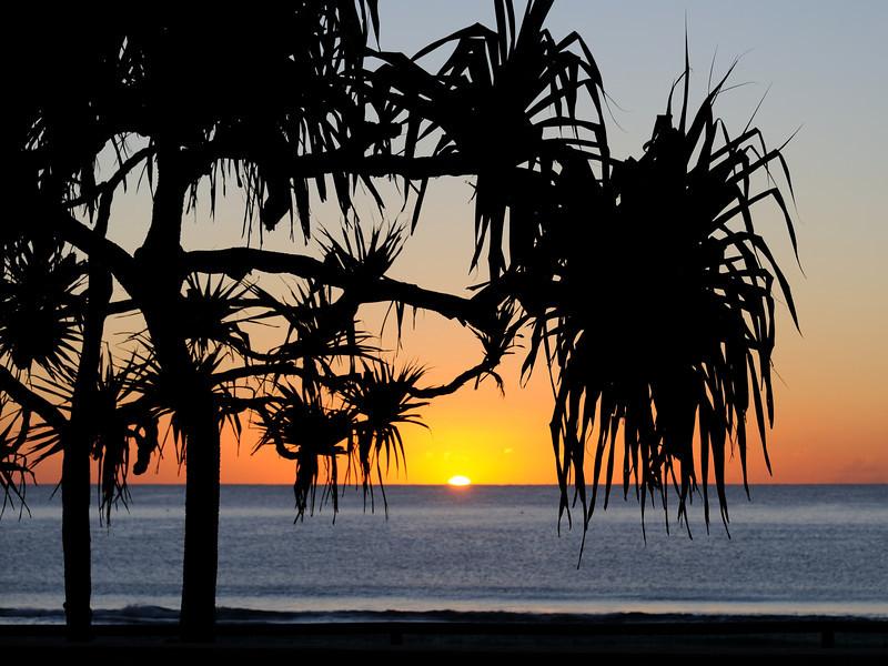 Surfers Paradise sunrise, Gold Coast, Queensland.