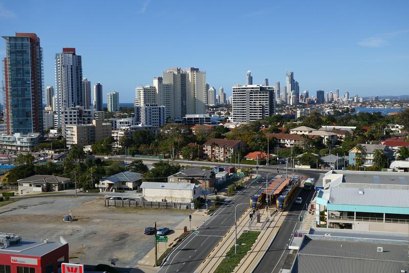 1st day of Gold Coast light rail