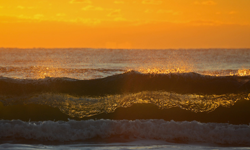Main Beach waves, Gold Coast, Queensland.