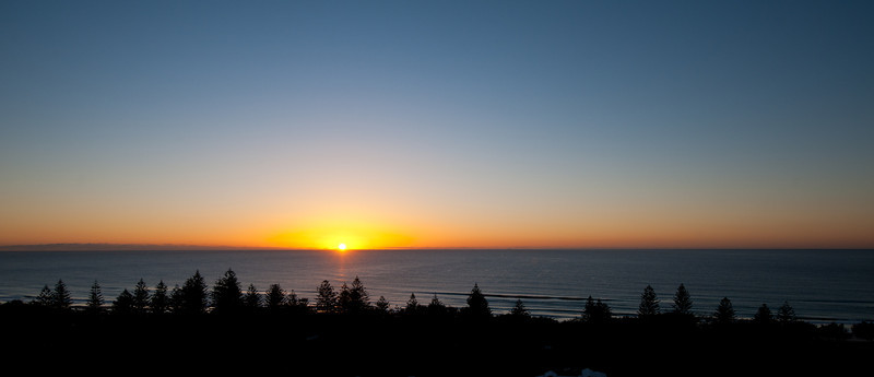 Sunrise, Main Beach, Queensland.