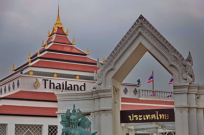 Pavillon de Thailande Chine, Shanghai, Expo universelle
