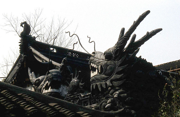 Shanghai, 1990, vieille ville