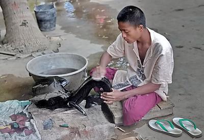 laquerie, laque, bagan, myanmar, birmanie, artisanat
