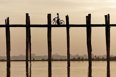 Pont U-bein - Myanmar (Birmanie)