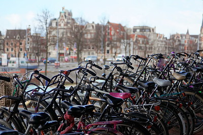 Amsterdam, le vélo comme mode de vie