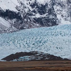 Les glaces qui fuient le réchauffement climatique....