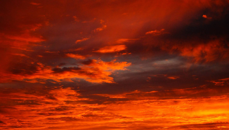 Fire in the Sky.  Carlsbad