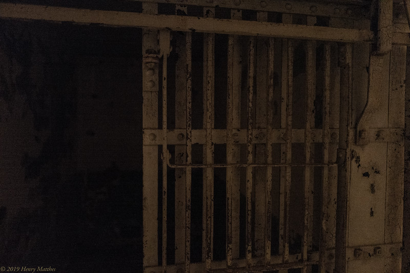 Cell Block A, the original square bar Army Jail