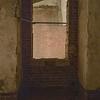 Gun window over moat of old fort