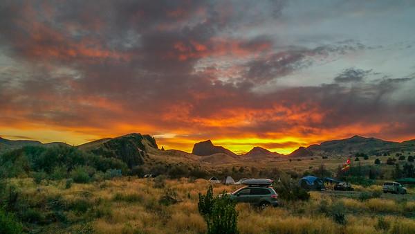 Sunset, Priest Hole Recreation Area