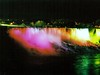 Niagara Falls - American Falls at night