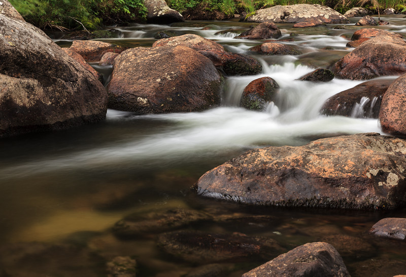 Cascades On The Big Thompson River In Rocky Mountain National Park