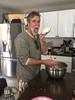 salty homemade mozzarella