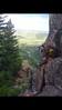 andMORE climbing..multi pitch trad play 1,000 feet at el dorado canyon