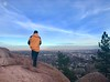boulder at sunset with jessi 2018
