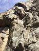 sweet-sweat Trad climbing  in Boulder Canyon