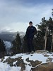 at RMNP snowshoeing  Jan 2018