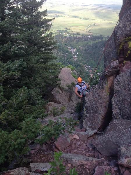 and we rapped down july 2015 el dorado canyon Colorado