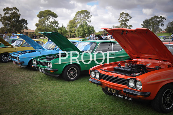1974 RS3100 Ford Capri's 248 made, 50 exported to Australia.
