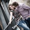 Engagement shoot of Hanna and Jordan