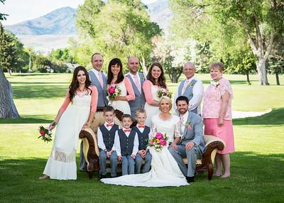 Reception at Logan Country Club  Logan Utah