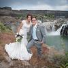 Post wedding ceremon shoot at Shoshone falls