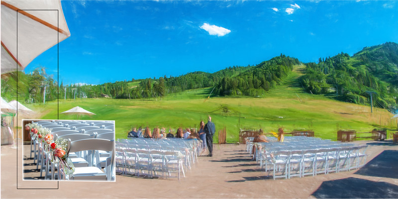 Snowbasin Resort wedding