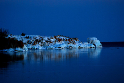 Lake Superior, view from (I think) Beaver Bay marina.