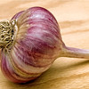 Garlic-Marbled Purple Stripe.