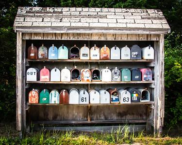 """""""Post Office"""" - near Buzzards Bay, Cape Cod"""