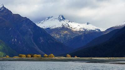 Makarora River and Mount Aspiring National Park